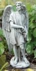"""Male Angel Garden Statue - 14""""H"""