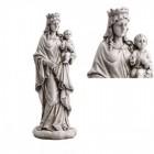 "Mary Queen Heaven Garden Statue 18"" High"