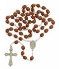 Men's Natural Wood Rosary