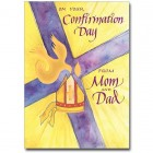 On Your Confirmation Day from Mom and Dad Greeting Card