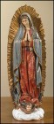 Our Lady of Guadalupe 9 Inch High Statue