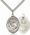 Our Lady Mount Carmel Patron Saint Medal