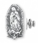 Our Lady of Guadalupe Lapel Pin Sterling Silver