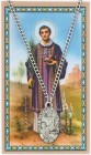 Oval St. Stephen Medal with Prayer Card