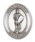St. Florian Visor Clip