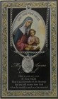 St. Anne Medal in Pewter with Bi-Fold Prayer Card