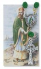 St. Patrick Auto Rosary with Prayer Card