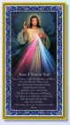 Divine Mercy Italian Prayer Plaque