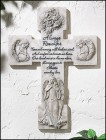 "Memorial Wall Cross - 10""H"