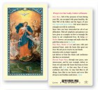 Our Lady Untier of Knots Laminated Prayer Cards 25 Pack