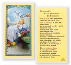 Bautismo Renovacation Promesas Laminated Spanish Prayer Cards 25 Pack