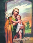 St. Joseph Print - Sold in 3 per pack