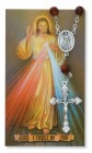 Divine Mercy Auto Rosary with Prayer Card