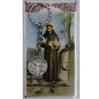 St. Francis Key Ring with Prayercard