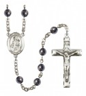 Men's St. Nicholas Silver Plated Rosary