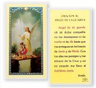 Angel De La Guarda Del Puente Laminated Spanish Prayer Cards 25 Pack