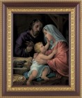 Holy Family In Joseph's Workshop Framed Print