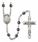 Men's St. James the Greater Silver Plated Rosary