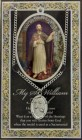 St. William The Confessor Medal in Pewter with Bi-Fold Prayer Card [HPM056]