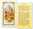 Daily Prayer To St. Joseph Laminated Prayer Cards 25 Pack