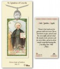 St. Ignatius of Loyola Medal in Pewter with Prayer Card