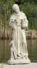 "St. Francis Outdoor Garden Statue 18"""