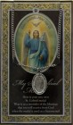 St. Gabriel Medal in Pewter with Bi-Fold Prayer Card