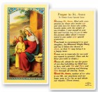St. Anne, Prayer Obtain Favor Laminated Prayer Cards 25 Pack