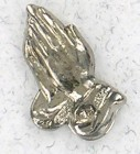 Praying Hands Lapel Pin (12 per order)