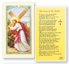 The Cross In My Pocket Laminated Prayer Cards 25 Pack