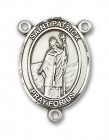 St. Patrick Rosary Centerpiece Sterling Silver or Pewter