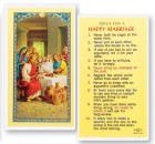 Rules For A Happy Marriage Laminated Prayer Cards 25 Pack