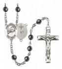 Men's St. John Paul II Silver Plated Rosary
