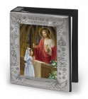 First Communion Pewter Photo Album - Girl