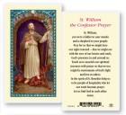 St. William Laminated Prayer Cards 25 Pack