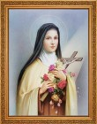 St. Therese Framed Print - 4 Frame Options Available
