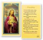 Friendship Laminated Prayer Cards 25 Pack