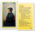 Prayer To St. Elizabeth Seton Laminated Prayer Cards 25 Pack