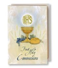 First Communion Pearlized Italian Art Missal