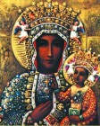 Our Lady of Czestochowa Print - Sold in 3 per pack