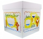 "Sacrament Keepsake Box, Printed Paperboard, 10""H"