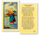 Prayer Before A Journey Laminated Prayer Cards 25 Pack