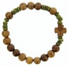 Wood Rosary Bracelet - 8mm [RB3538]