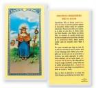 Oracion A Santo Nino De Atocha Laminated Spanish Prayer Cards 25 Pack