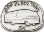 God Bless This RV Visor Clip