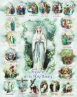 Mysteries of the Rosary Print - Sold in 3 per pack