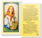 Prayer In Honor of St. Dymphna Laminated Prayer Cards 25 Pack