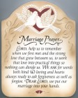 Marriage Prayer Wall Plaque