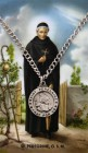 Round St. Peregrine Medal with Prayer Card