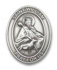 St. William Visor Clip